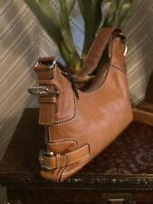 Michael Kors Fulton Leather Shoulder Tote, Large - Brown