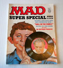 Vintage Mad Magazine Super Special Number Eleven 1972 VG Conditon - No Record