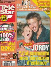 Télé Star N°1505 - 01/08/2005 - JORDI - LAURENT OURNAC- Eunice Barber - Jude Law