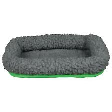 Trixie Guinea Pig Cuddly Bed, Reversible, Polyester Fleece, 30x22cm - Grey/Green