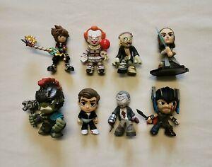 Mystery Mini Funko Bundle. Inc/Thor: Ragnarok, IT, Walking Dead, Kingdom Hearts.
