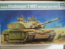Trumpeter 1/35 British Challenger 2 MBT (op telic) Iraq 2003 Model Kit