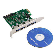 Desktop PCI-E Card to four Ports USB 3.0 Expansion Card for NEC Module