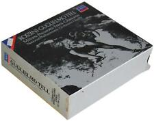 ROSSINI Guglielmo Tell 4-Disc CD BOX SET London 1986 Chailly Pavarotti Opera