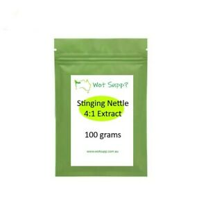 Stinging Nettle 4:1 Leaf Extract 100gm Powder  FREE POSTAGE Oz Store