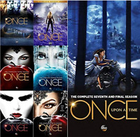 Once Upon A Time Seasons 1-7 DVD Set Complete TV Series Free Shipment