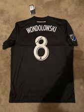 NWT San Jose Earthquakes Chris Wondolowski '18-'19 Adidas Replica Jersey Size XL
