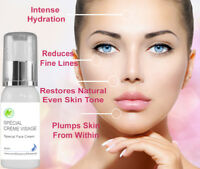 Spécial Crème Visage Face Cream with Hyaluronic Acid Anti Aging Wrinkle  60 ml
