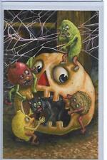 Matthew Kirscht Free The Kitty Sketch Halloween Black Cat Pumpkin 01.17