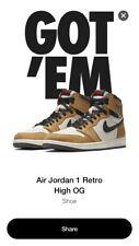 Nike AIR JORDAN 1 Retro High OG Rookie Of The Year 555088-700 Mens Size 13