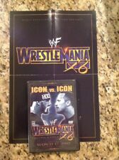 WWF - WrestleMania 18 (DVD, 2002)AUTHENTIC US release RARE OOP