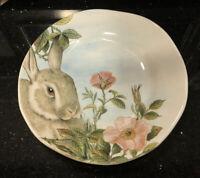 OPIFICIO ETICO Dinner/ Serving Plate Easter Rabbit Bunny Italy Platter