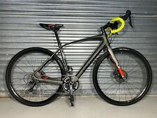 2015 Specialized DIVERGE EXPERT CARBON SIL/RKTRED 56 Gravel Bike Shimano Ultegra