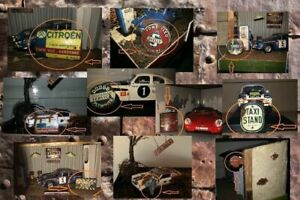 Lot # E: 10 Diorama Garage Acessories - 1/43 or 1/18 scale