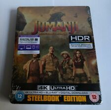 Jumanji: Welcome to the Jungle - 4K UHD steelbook - New and sealed
