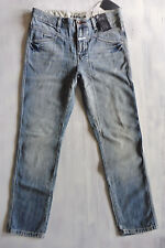CLOSED SUE Tapered slim Boyfriend aged-Look 7/8 Jeans Hose Gr S 36 W28/L28 Neu