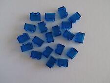 LEGO CLASSIC  20 transparente Bausteine 3065 blau 1x2 Noppen   NEUWARE