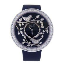 c067b3b3e32 Piaget Limelight Garden Party 18k Ouro Branco Suíço Quartz Relógio Damas  G0A3616.