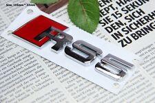 E378 RS 5 3D Auto Aufkleber Sticker Emblem Badge car Metall Zeichen Top Qualität
