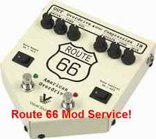 Visual Sound Route 66 Mod Service- Send Us Your Pedal