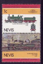 Nevis loco 100 CLASSE Wee carrello Locomotiva UK FRANCOBOLLI Gomma integra, non linguellato