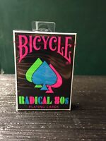 Bicycle Radical 80s Playing Cards Limited Edition New SEALED Collector