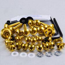 Aluminium Fairing Kit YZF1000 R1 Quick Release Allen Key Gold