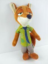 "Disney Zootopia Nick Wilde Fox Plush 10""  Doll Figure Stuffed Animal Toy"