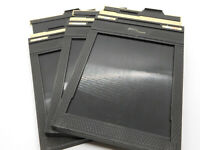 [ N Mint ] FIDELITY Deluxe 4x5 Cut Film Folder set of 3 Free Shipping from JAPAN