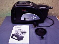 Tefal Toast N' Egg Toaster. 2 Slice. Black. New and Unused.