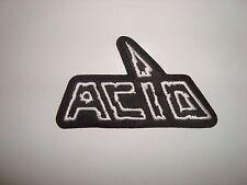 ACID  - LOGO Embroidered PATCH Motorhead Venom Exciter Iron Angel Maniac Anvil