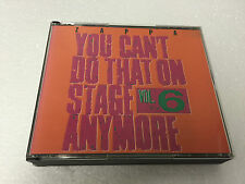 Frank Zappa RYKO You Can't DO That on Stage Volume 6 1993 NR MINT 2 CD FAT BOX