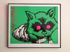 JERMAINE ROGERS FANTOMAS MINT COND SCREEN PRINT Poster Signed Numbered Framed