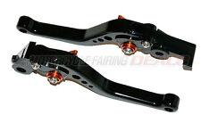 Honda CBR 600 1997 1998 1999 2000 Adjustable Shorty Brake Clutch Lever Black