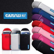Caseflex accesorios móviles para Varios Telefonos Samsung Neopreno Bolsa Funda