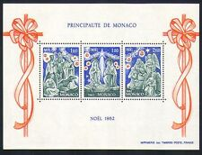 Monaco 1982 Christmas/Nativity/Greetings/Angels/Camel 3v m/s (n32644)