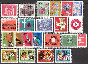 BRD Jahrgang 1963 Postfrisch**  LUXUS!!!