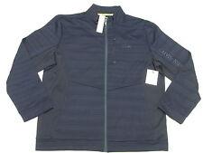$90 NWT Mens Calvin Klein Performance Space Dye Fleece Jacket Blue XXL 2XL N069