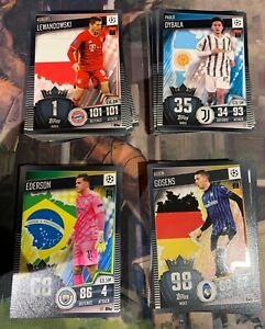 Topps Match Attax 101 2020/21 Base Cards - choose missing - buy 3 get 5 free
