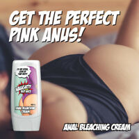 NAUGHTY BUT NICE ANAL BLEACHING CREAM – ANAL WHITENING PALE PINK ANUS BLEACH