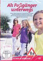 Sicher auf dem Schulweg + DVD + Als Fußgänger unterwegs + Verkehr Kinder Tipps +