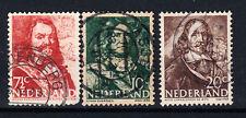 Briefmarken Niederlande 1943 Freimarken Mi.Nr.412+13+17