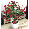 Outdoor Silk Garden Artificial Flowers Fake False Plants Plastic Grass Bouquet