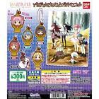 Bandai Puella Magi Madoka Magica Movie Soul Gem Chokonto Rubber Mascot Set 6pcs