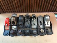 Lot Of 6 Block Planes And Parts- Stanley, Fulton, Dunlap