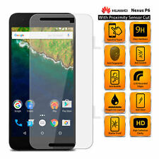 Per Huawei Nexus 6p - 100% IN VETRO TEMPERATO SCREEN GUARD con sensore di prossimità taglio