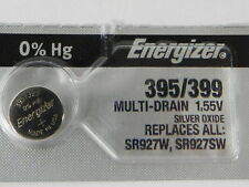 Energizer  395/399 SR927W /SR927SW Button Cell Silver Oxide Watch Battery, 1Pc