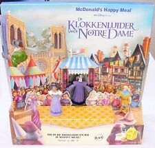 McDonald's Happy Meal THE HUNCHBACK OF THE NOTRE DAME Showcase Display Set MIB!