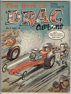 Best of Drag Cartoons #2 VG 1969 Wonder Wart-Hog – Scarce Mag!