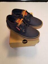 Levi's blue navy gum Sneaker (Toddler) size 9